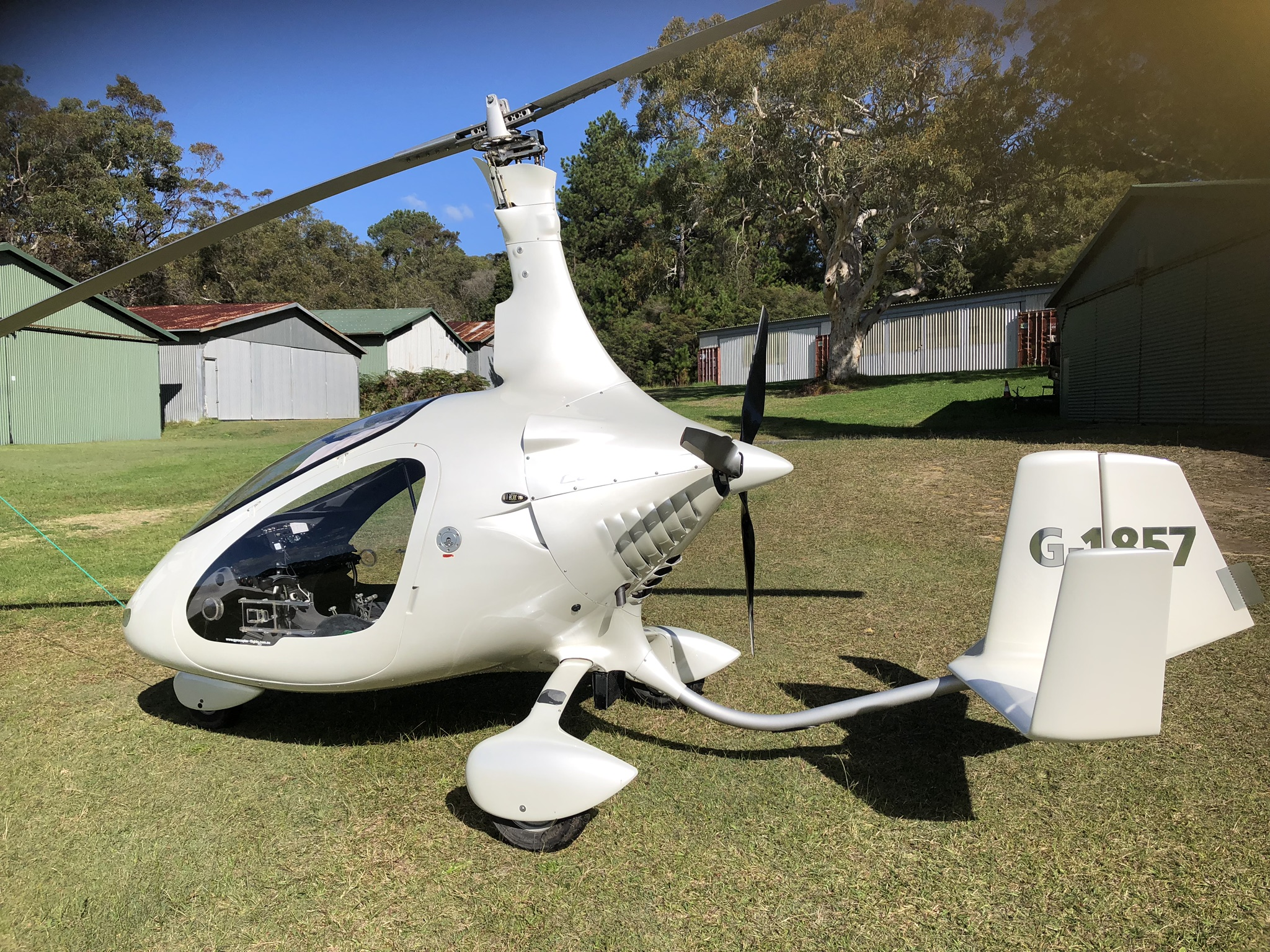 Second hand Gyrocopters - Byron Bay Gyrocopters Australia