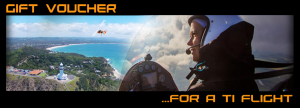 Gyrocopter Flight Gift Voucher. Come with us on a Gyrocopter Flight around Cape Byron.