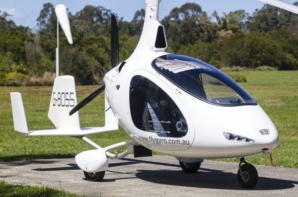 Gyrocopter Autogyro Cavalon door